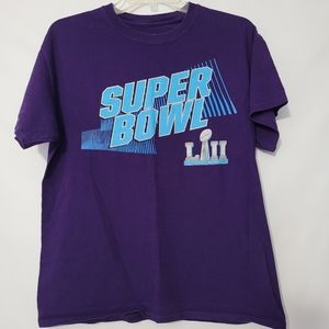Super Bowl 52 Lll Graphic Tee Men's Medium